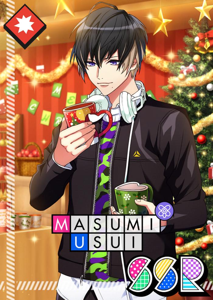 Masumi Usui SSR Joy to the World unbloomed