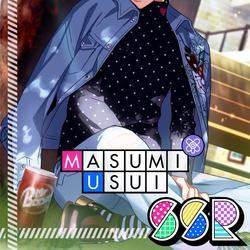 Masumi Usui SSR 【Alex in Dreamland】