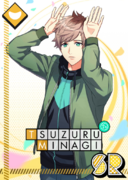 Tsuzuru Minagi SR Wise Rabbit unbloomed