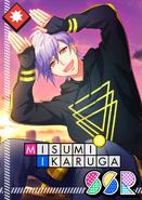 Misumi Ikaruga SSR Black Rabbit of Mid-Autumn unbloomed