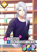 Azuma Yukishiro SSR Elegant Riding Club unbloomed