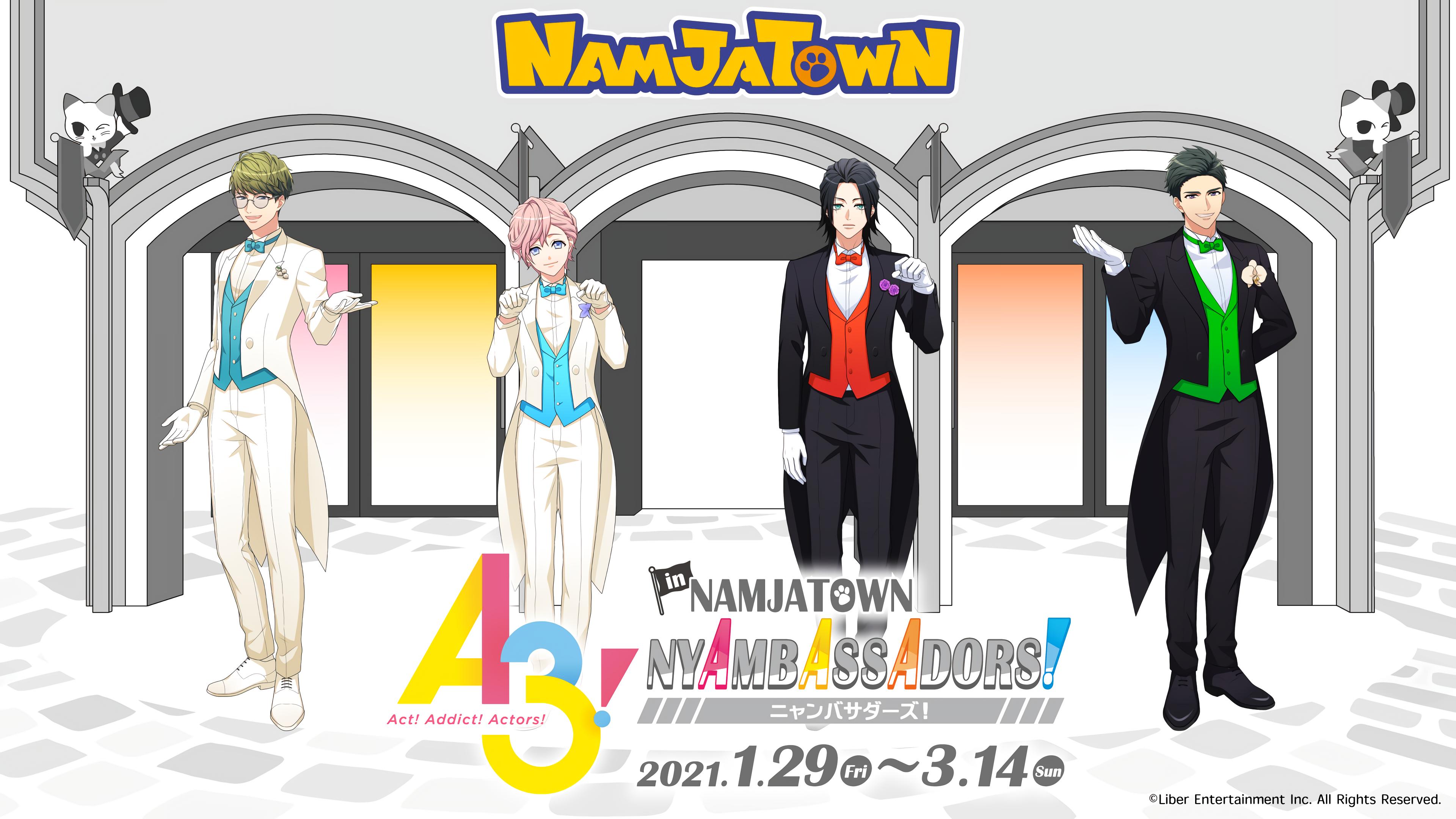 A3! X Namjatown Collaboration NYAMBASSADORS 2021