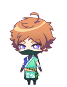Tenma Shinobi Adventures! chibi