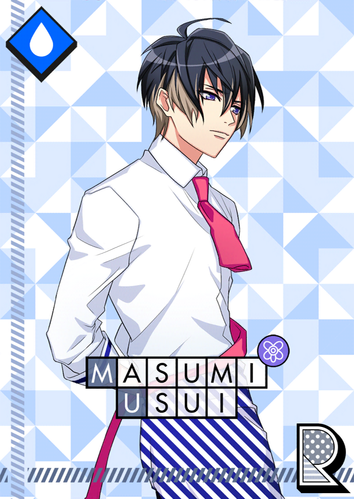 Masumi Usui R 【The Actor's Cafe is Open!】