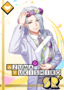 Azuma Yukishiro SR Wishing on a Flower Crown bloomed