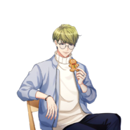 Chikage Utsuki SR Recollections of Gingerbread unbloomed transparent