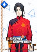 Azami Izumida N Fiery Mantou Fist! bloomed