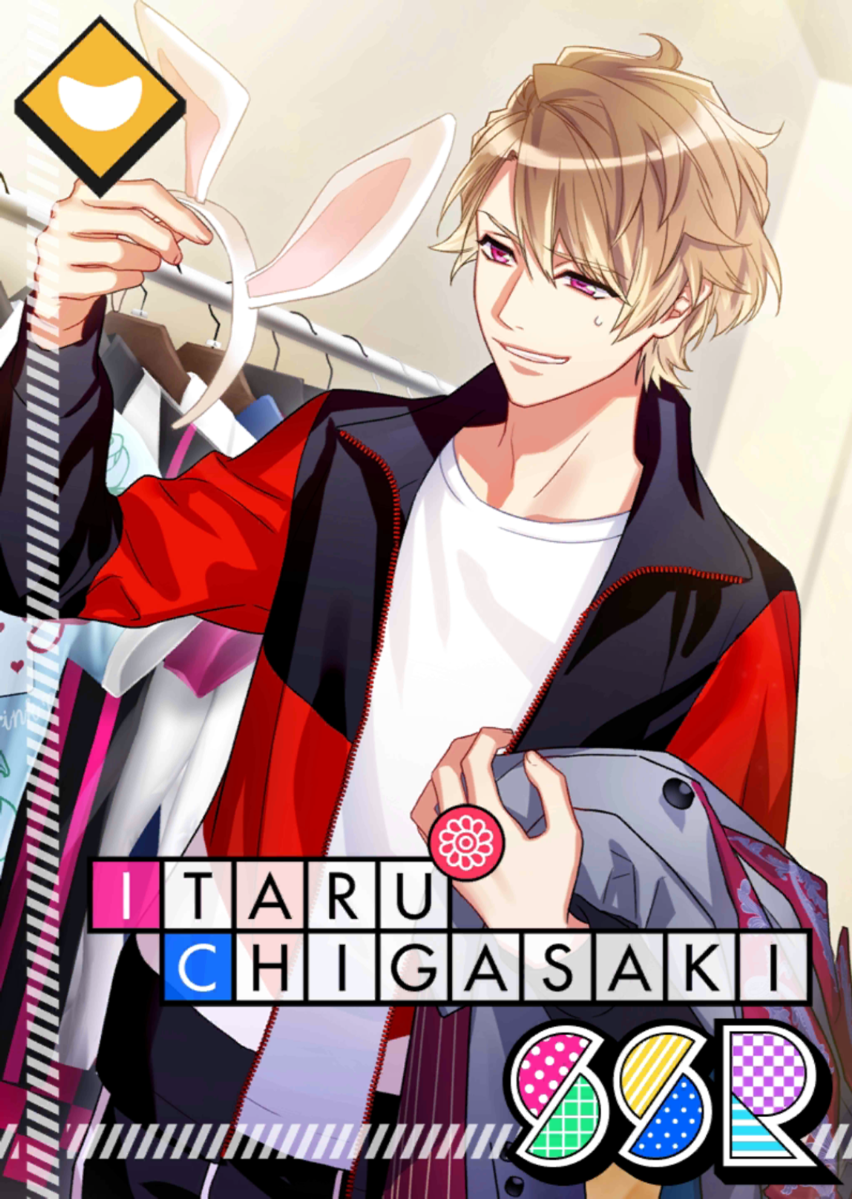 Itaru Chigasaki SSR Door to Wonderland unbloomed.png