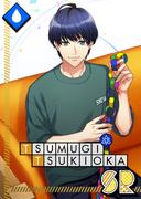 Tsumugi Tsukioka SR Clumsy Paper Craft unbloomed
