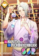 Azuma Yukishiro SSR In The Cool Breeze bloomed