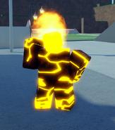 Heatblast Back