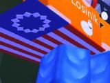 Valentine's Flag