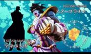 SPTW in anime aka Star Platinum the world