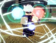 Hollow Purple Gojo in-game