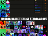Rarity Tier List