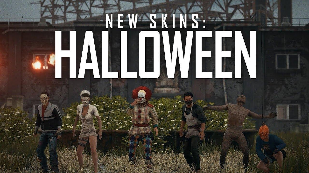 PUBG - New Skins - Halloween