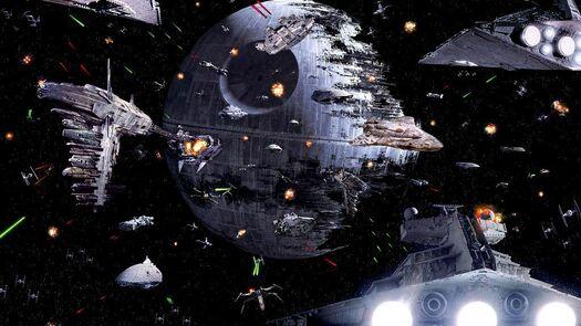 La bataille d'Endor: Mon Mothma la prédit, Ackbar la fait : le glas de l'Empire. -  Hondo décrypte star wars pour vous !