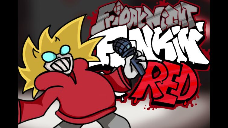 FNF x Red mod - The Real Deal