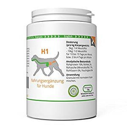 ww7 H1   Darm & Wurm Formel für Hunde   150g Natürliches Premium Granulat: Amazon.de: Haustier