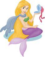 Mermaid rapunzelII