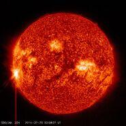 X4-9-solar-flare-feb-25-gmt