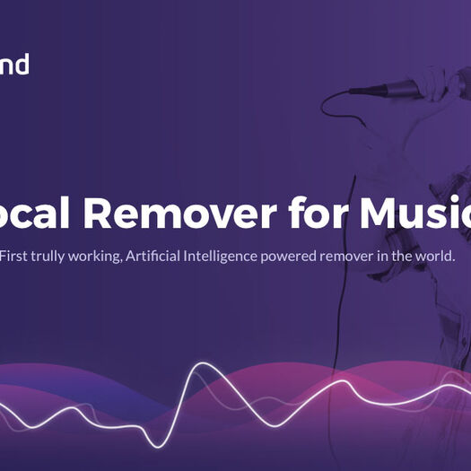 PhonicMind Vocal Remover - Artificial Intelligence for Sound!