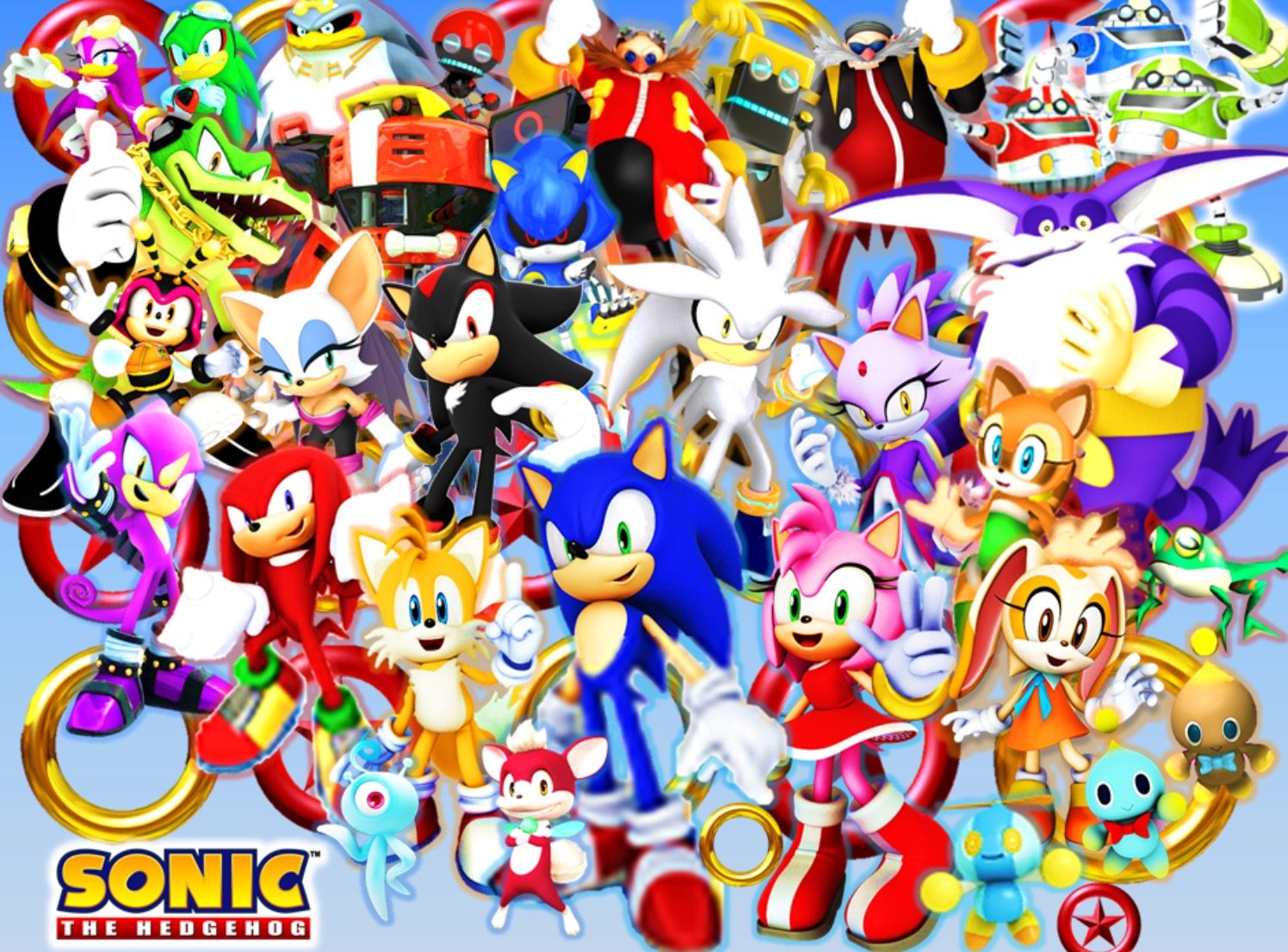 Am I the only one who enjoys all the Sonic characters/ why does the fanbase complain about them