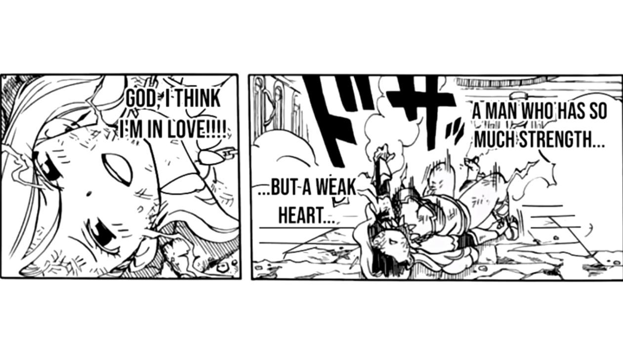 Mirajane's love rival ey? 😂