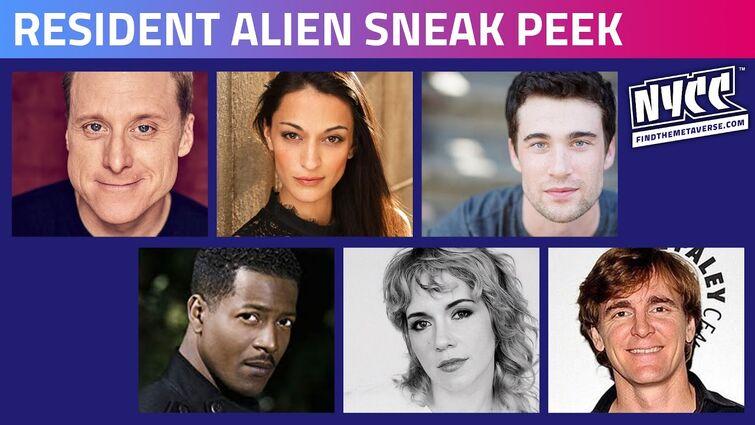 SYFY's Resident Alien | Sneak Peek & Cast Interview