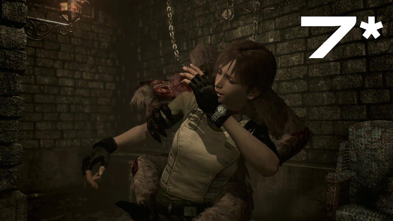 Resident Evil Zero HD Remaster Walkthrough - Part 7 - Save Rebecca!