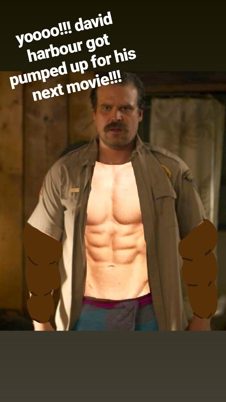 Davids Ripped For His Next Movie!!!