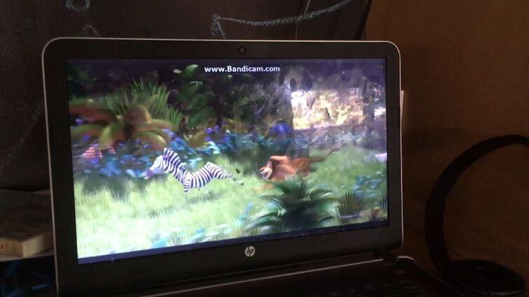 Madagascar Alex Chases Marty