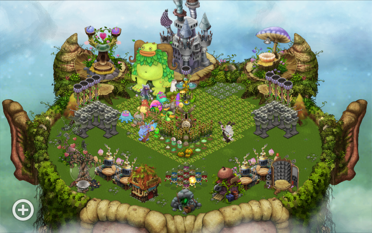 Look at my Plant Island