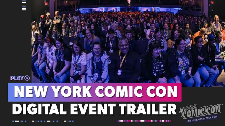 New York Comic Con x MCM Trailer | Alan Tudyk helps us Find the Metaverse