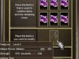 Crafting G9 Unique weapons
