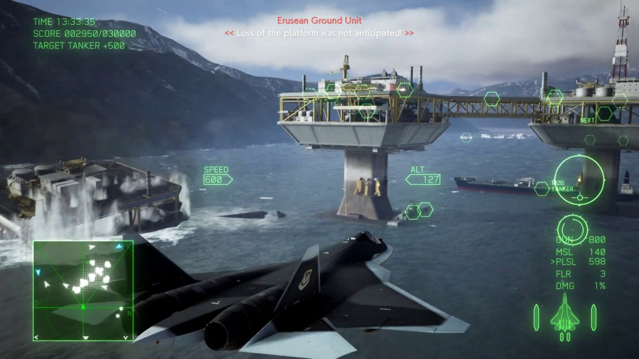 Dropping platforms onto ships however does reward points after a delay