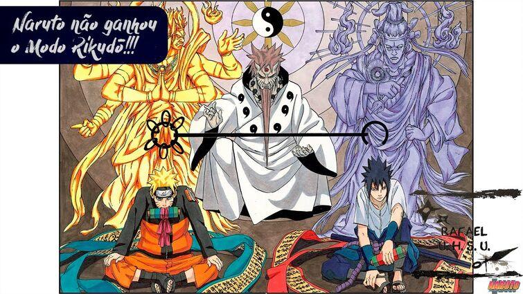 [#Shorts] O Naruto nunca ganhou o Modo Rikudō | Rafa explica!