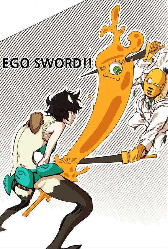 Sora's Ego Sword
