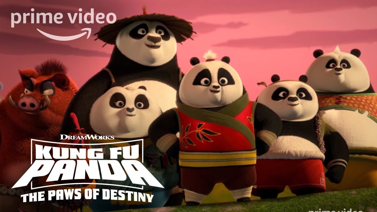 Kung Fu Panda Season 1, Part 2 - Official Trailer   Prime Video Kids