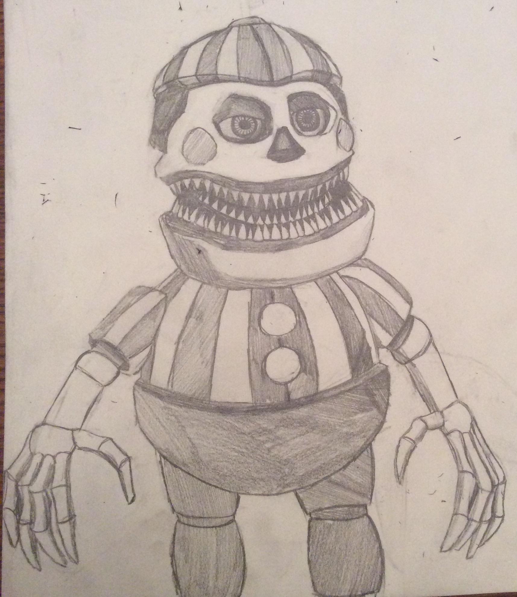 Balloon Boy Drawing U Wanted Fandom