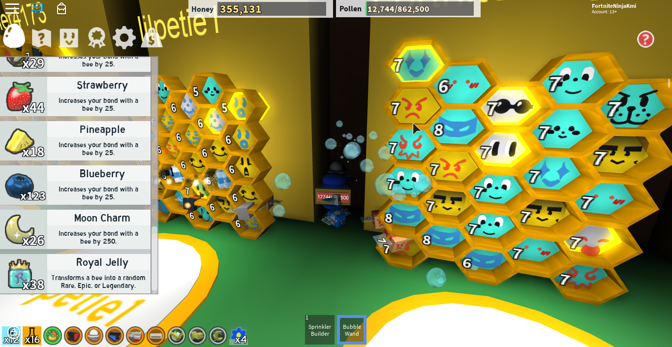 Discuss Everything About Roblox Bee Swarm Simulator Wiki