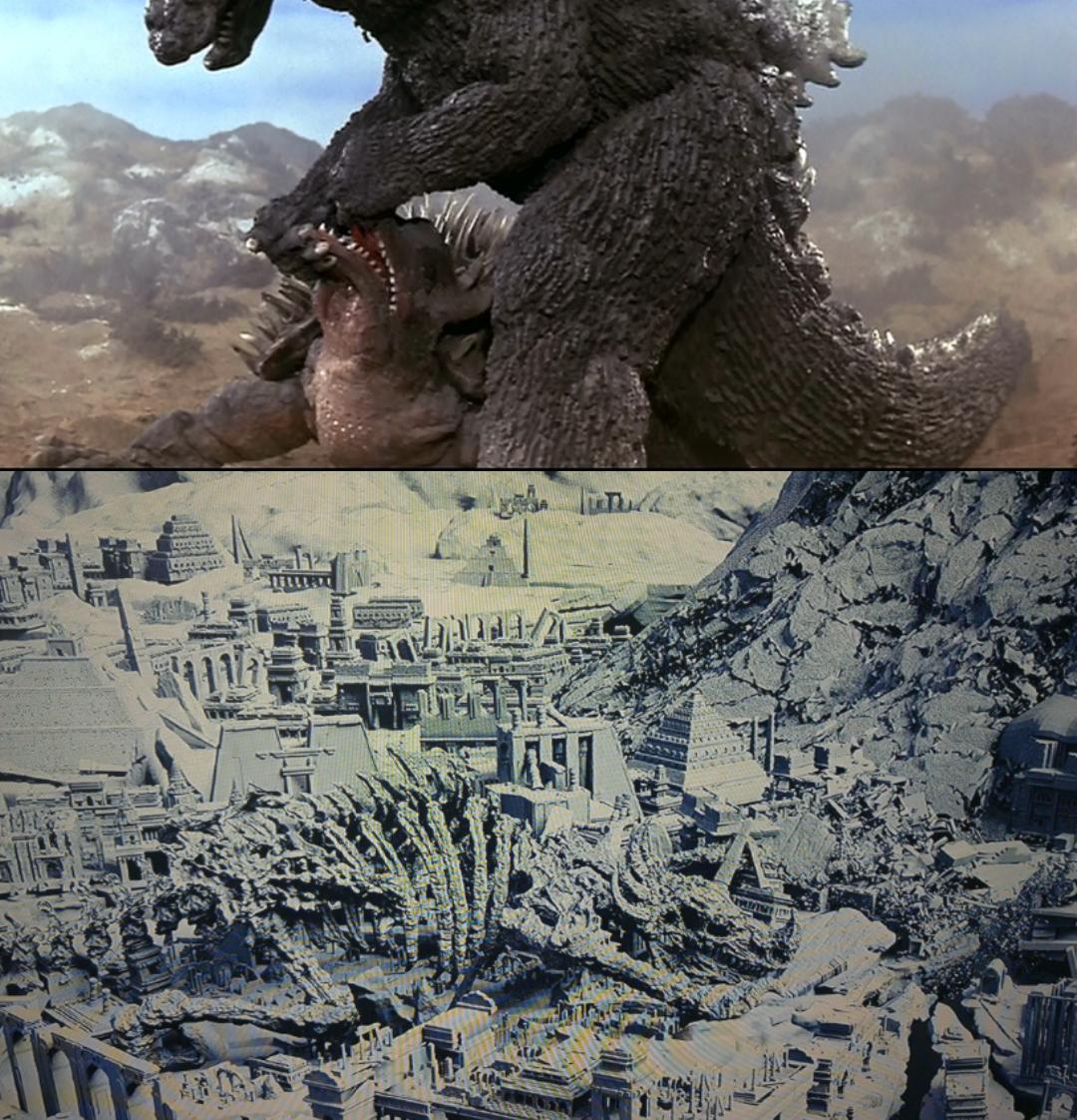 Die Anguirus Legendary theorie