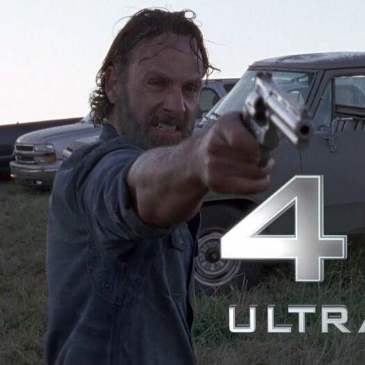 The Walking Dead | Rick Grimes VS Negan | Logoless 4k