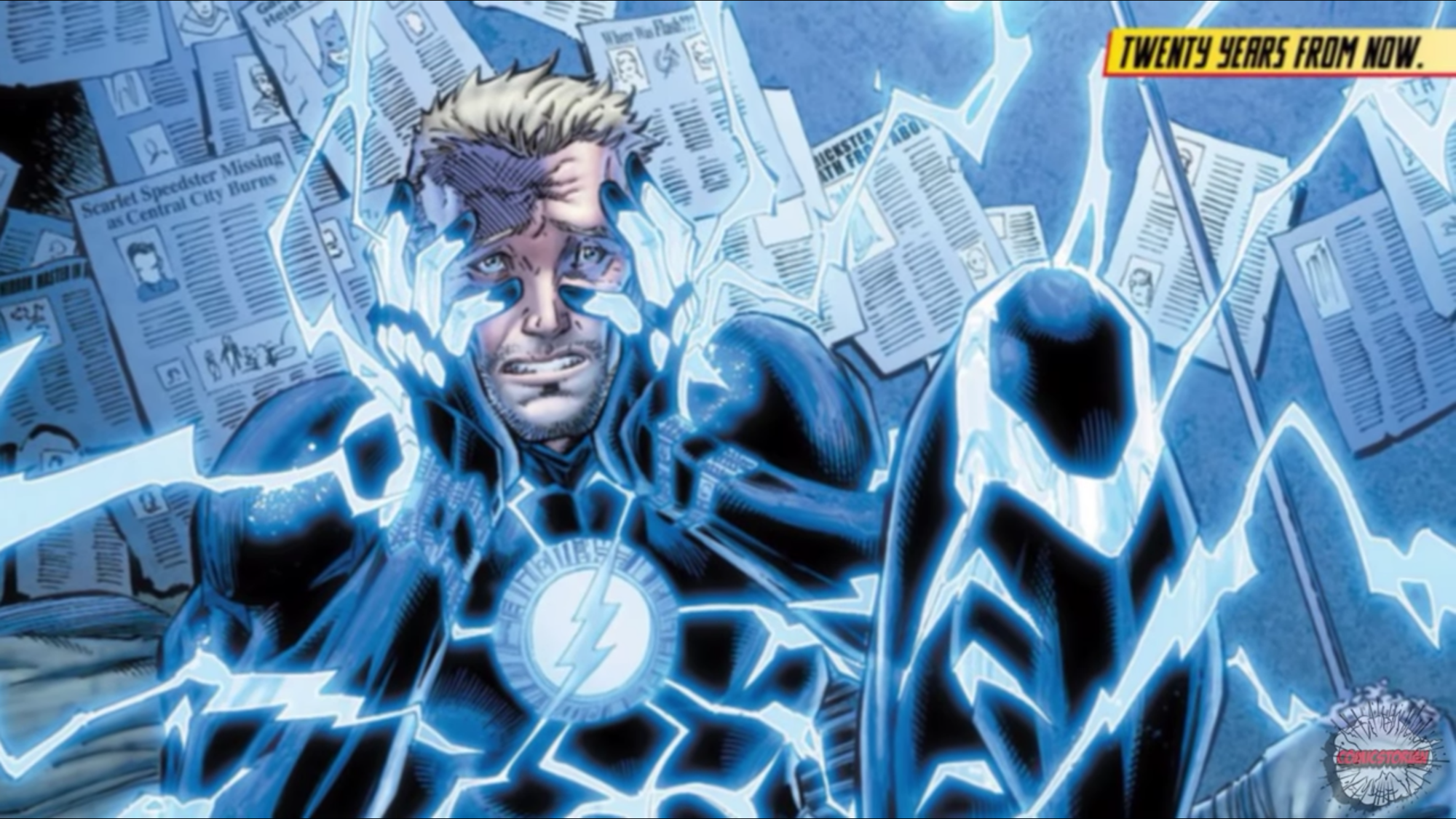 Why was the speedforce broken in the timeline of future flash?