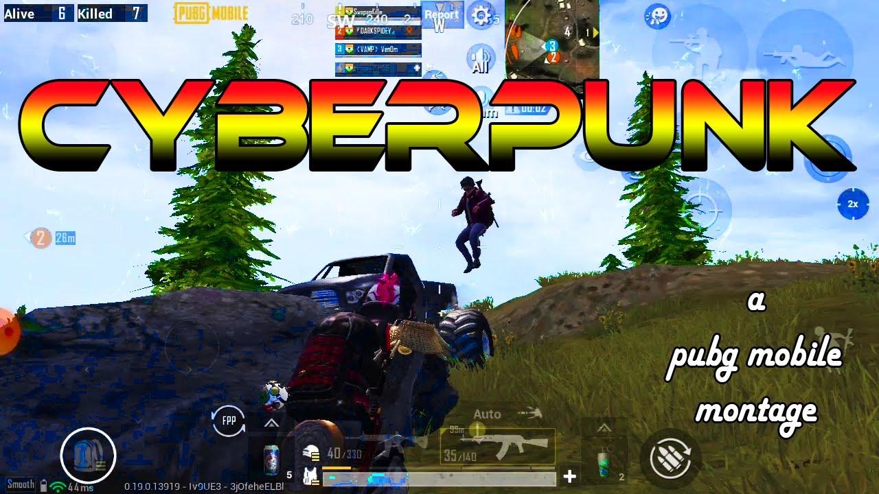 CYBERPUNK - a #PUBG montage | Venom Gaming | Pubg mobile