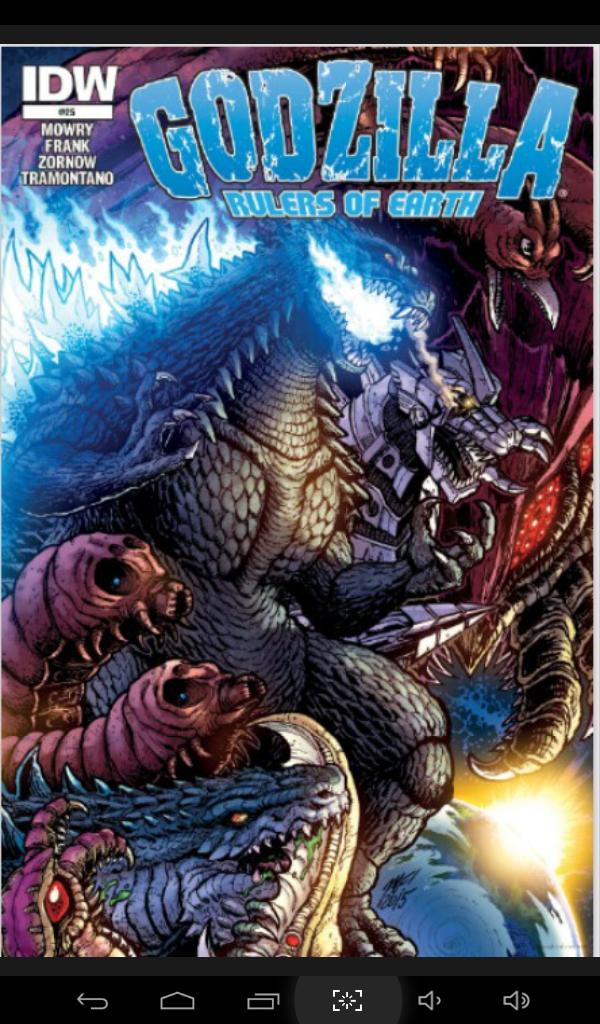 Godzilla del cómic Godzilla: rules of earth
