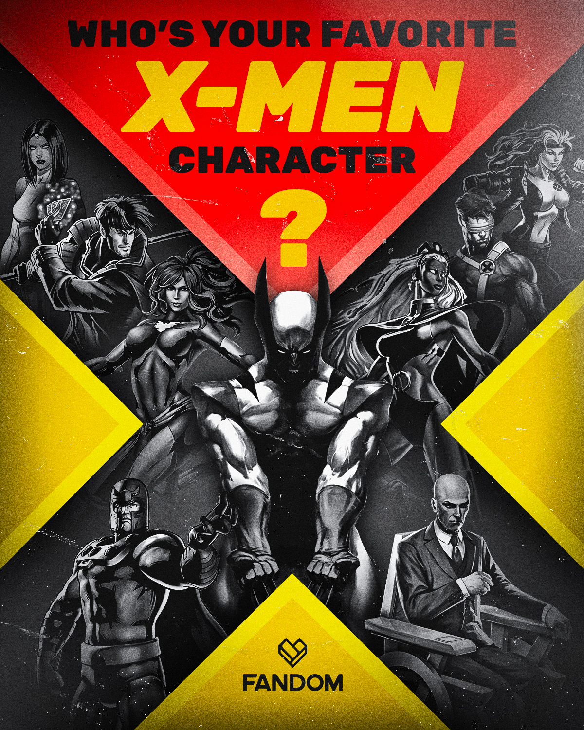 Who's your favorite X-Men? On #XMenDay there is no wrong answer