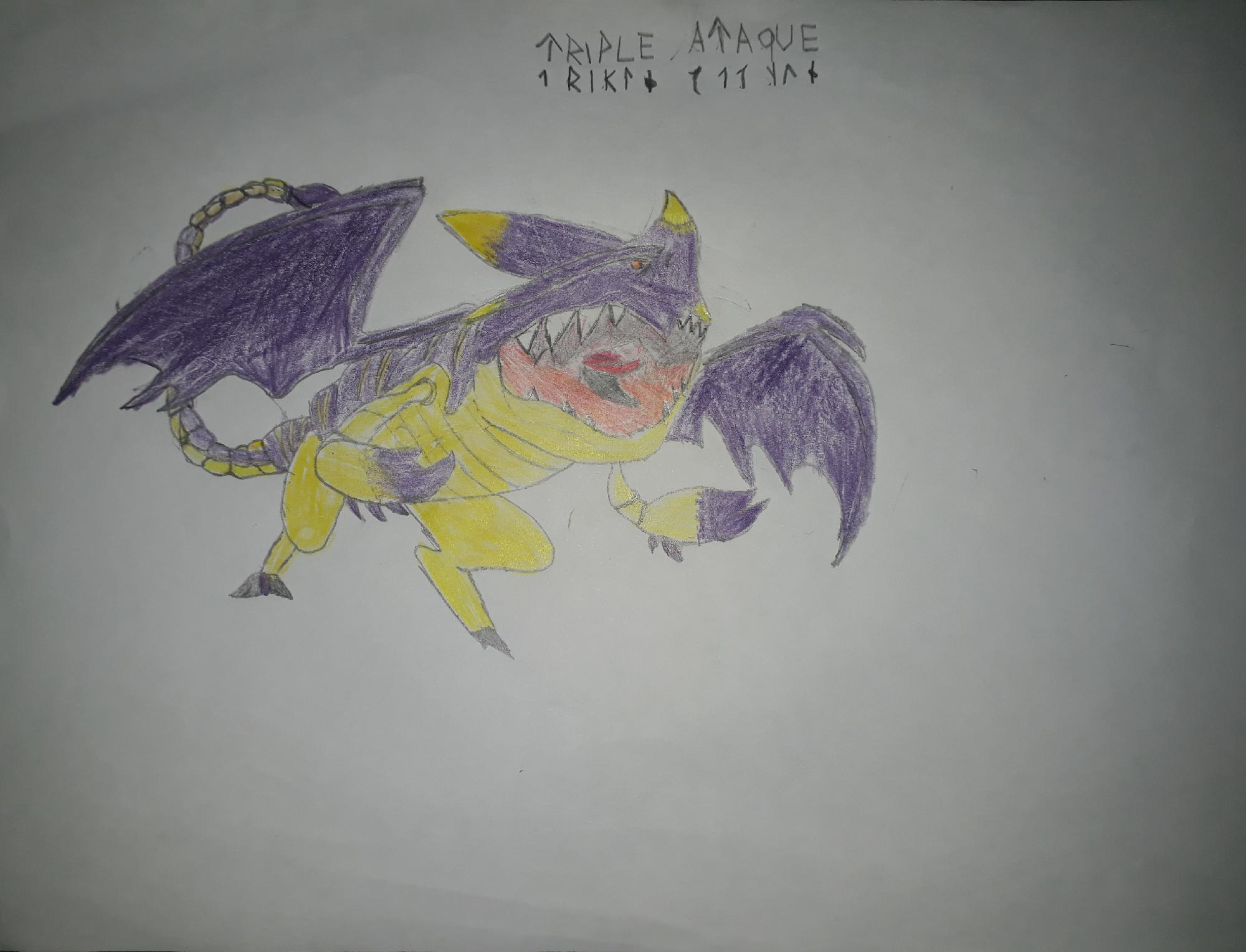 Dragon #8 (triple ataque)