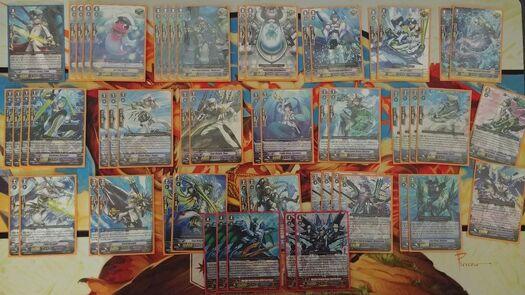 Cardfight Vanguard Aqua Force Deck/Lot (Maelstrom LB) + Extras w/Sleeves!   | eBay