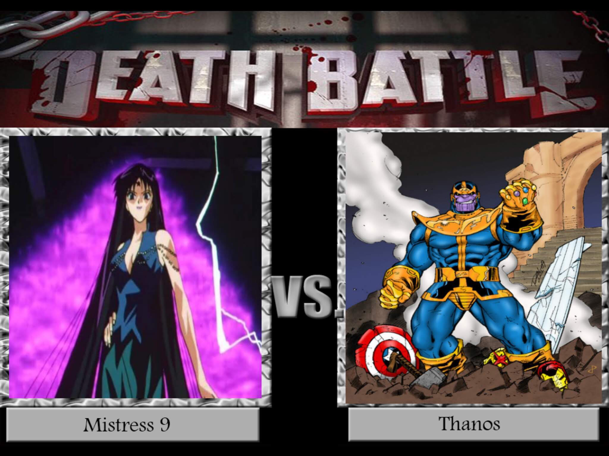Corrupted princess of Titan(temporary) vs the corrupted  Prince of Titan